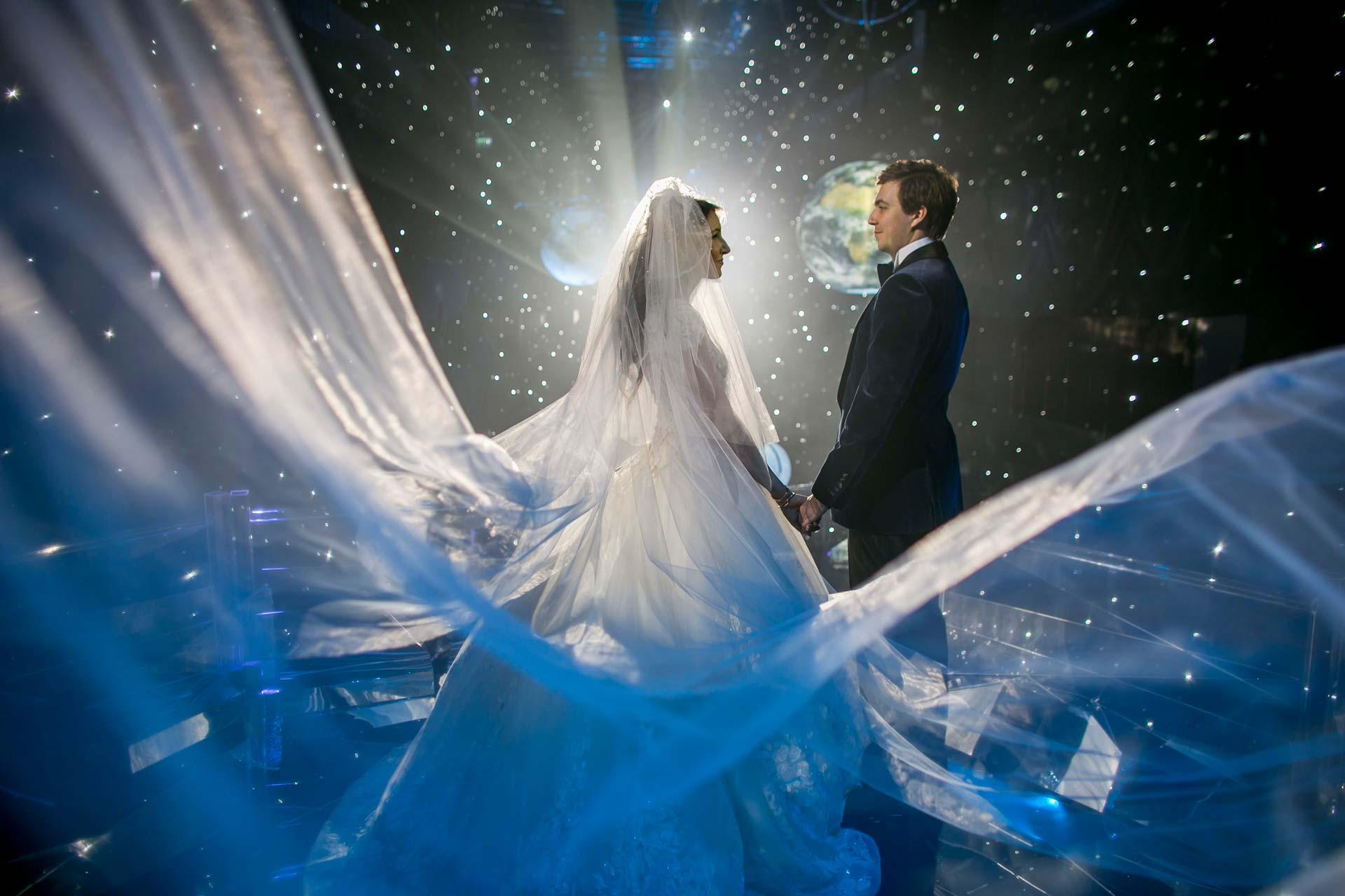 Рождение Вселенной. Свадьба Алины и Павла фото 17