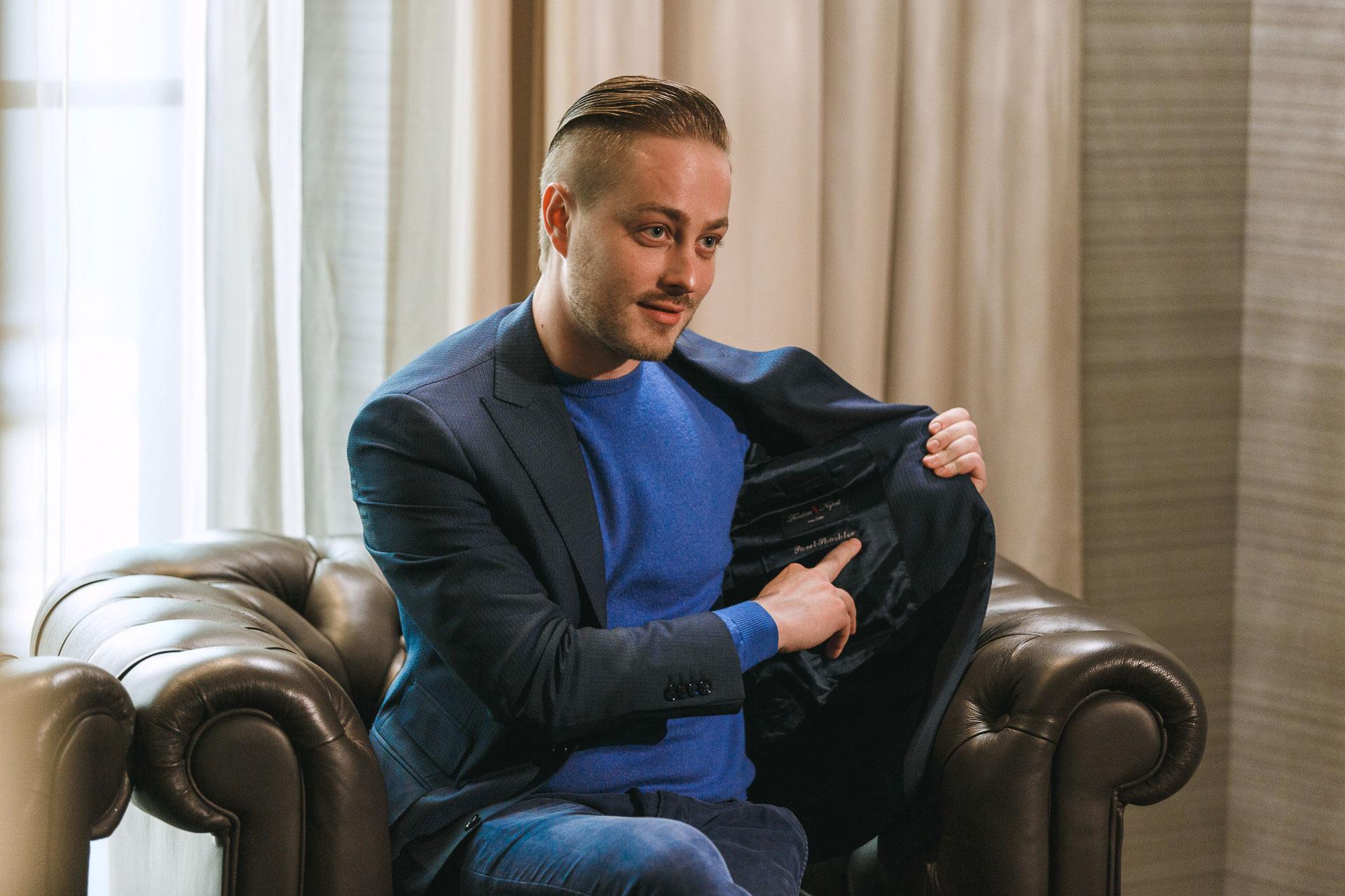 Дизайнер Андреа Падован: главный секрет итальянского костюма