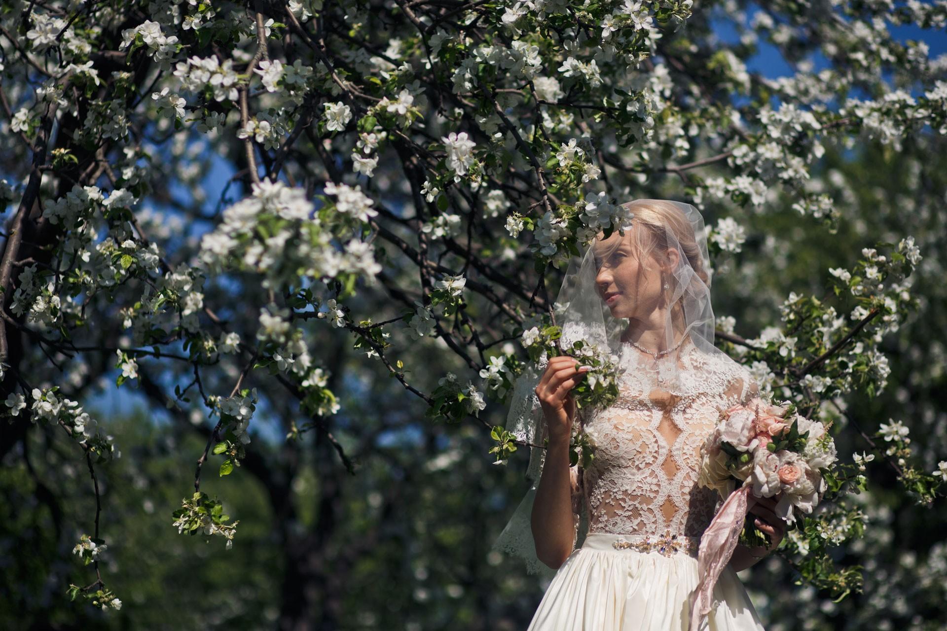 Вишневый сад. Свадьба Валентина Кротова и Натальи Ходуновой фото 11