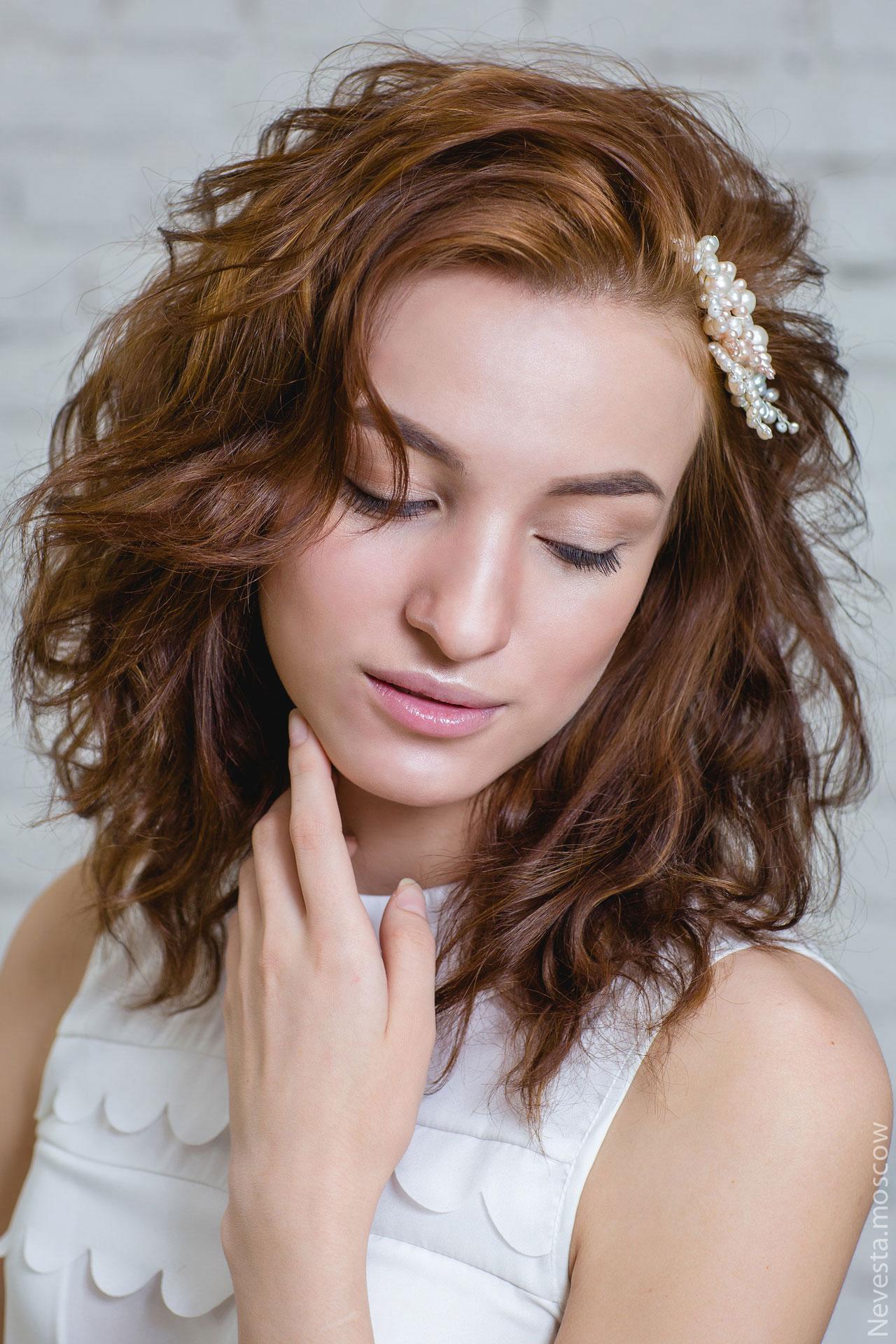 Глаза: подводка макияж невесты