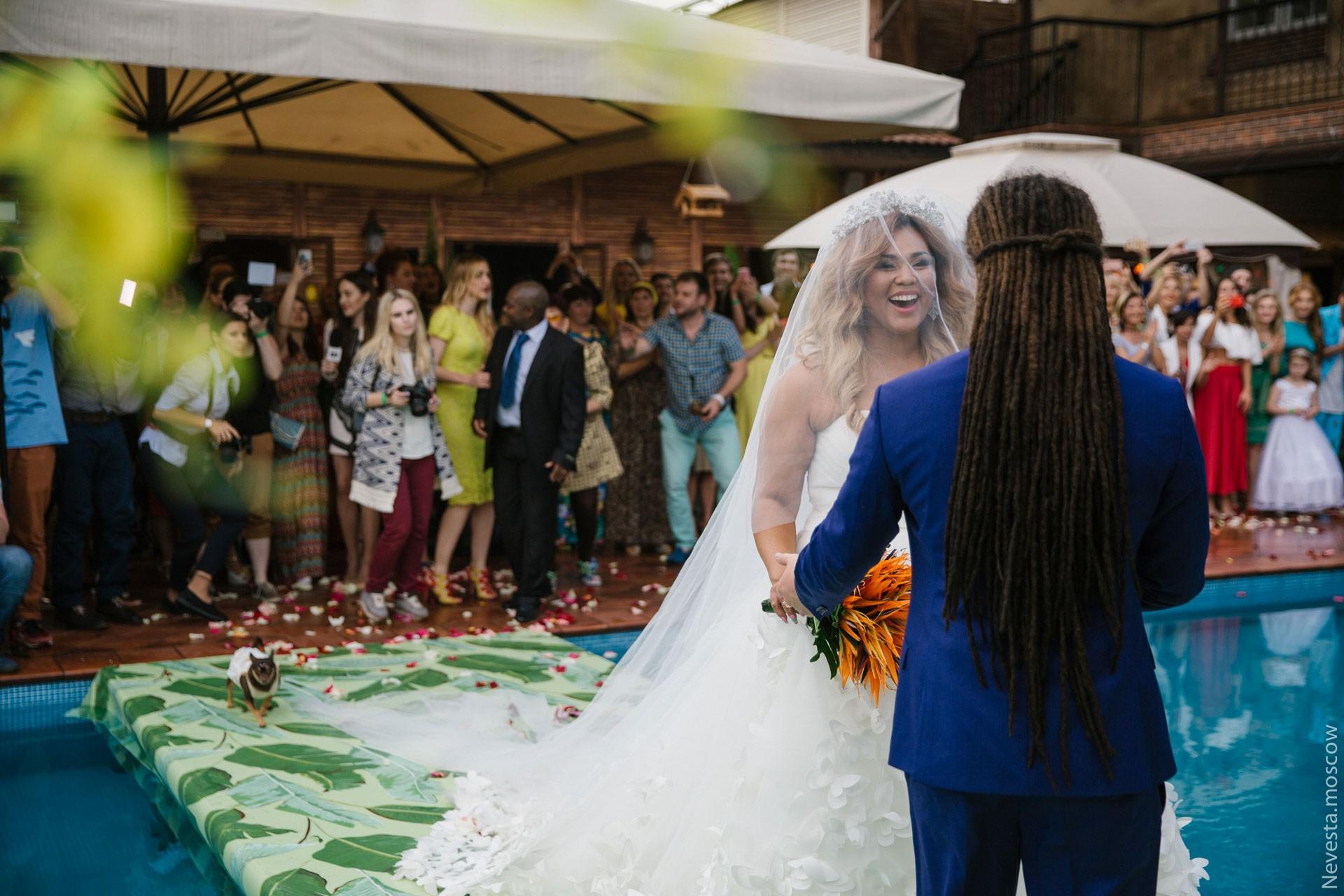 Экзотическая Ямайка. Свадьба Корнелии Манго и Богдана Дюрдя фото 27