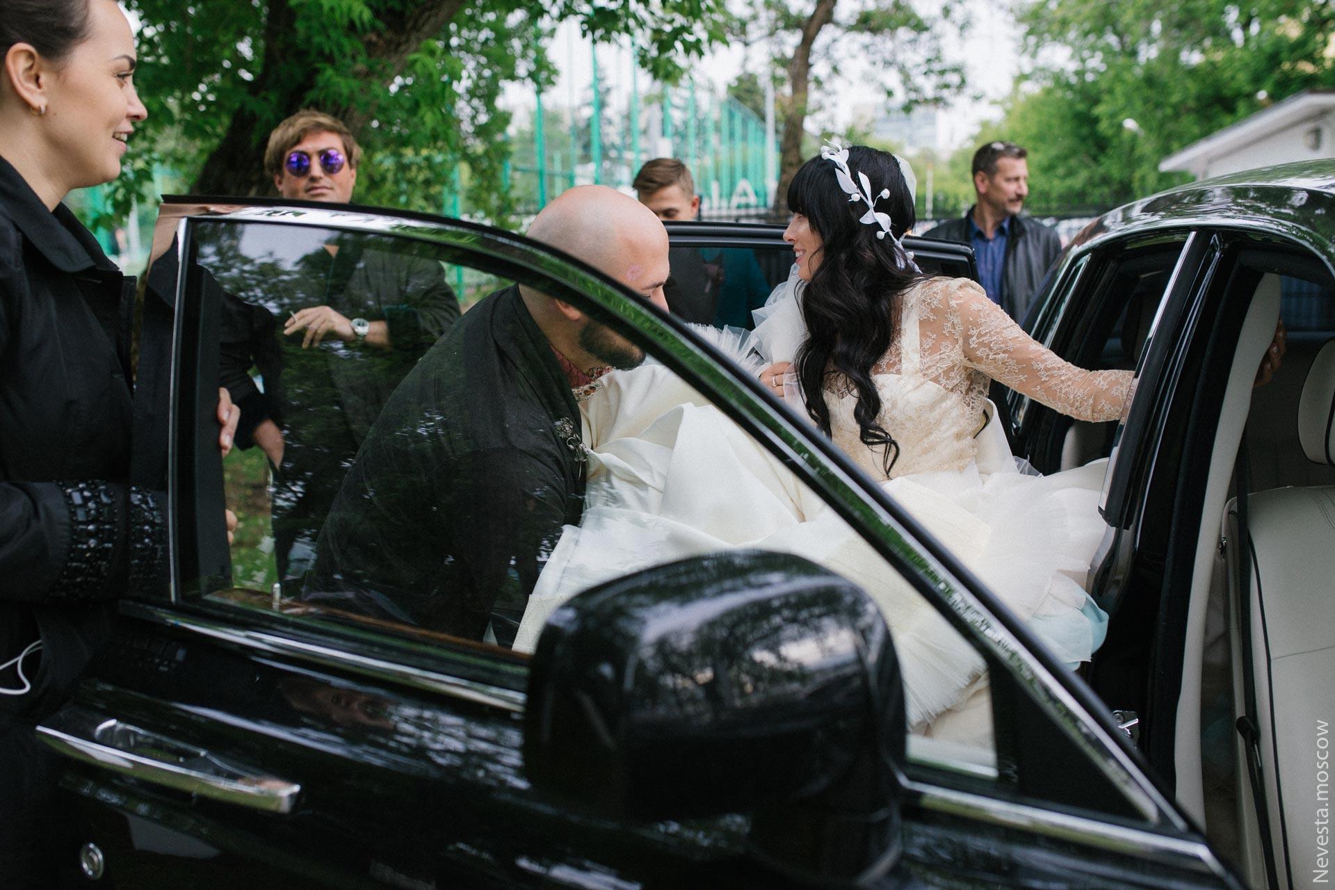 Свадьба Нелли Ермолаевой и Кирилла Андреева фото 24