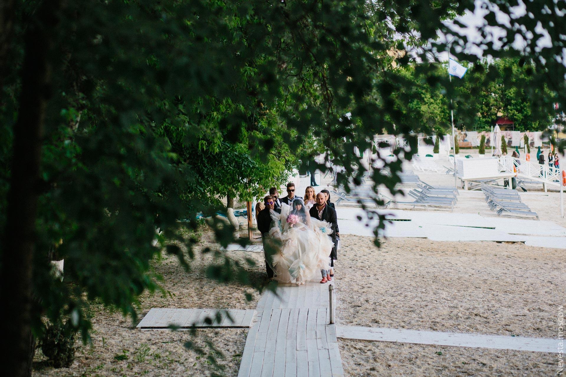 Свадьба Нелли Ермолаевой и Кирилла Андреева фото 25
