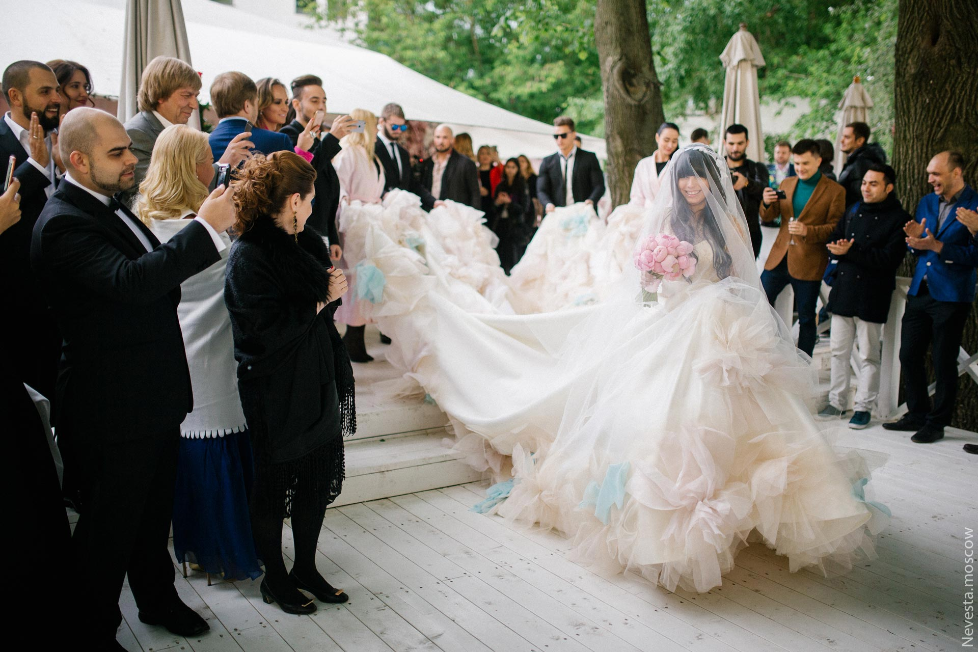 Свадьба Нелли Ермолаевой и Кирилла Андреева фото 27