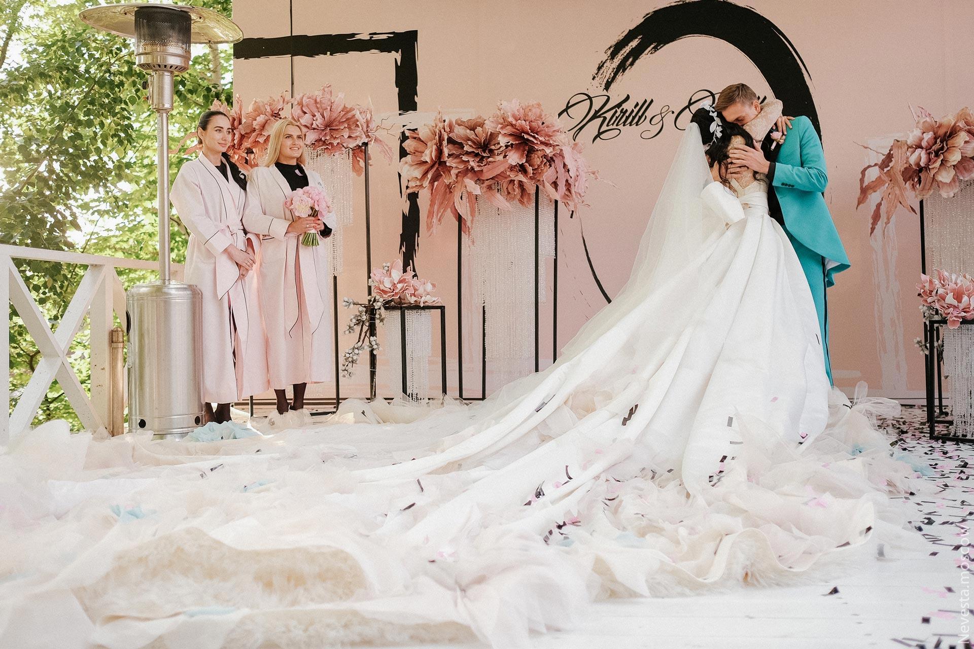 Свадьба Нелли Ермолаевой и Кирилла Андреева фото 29