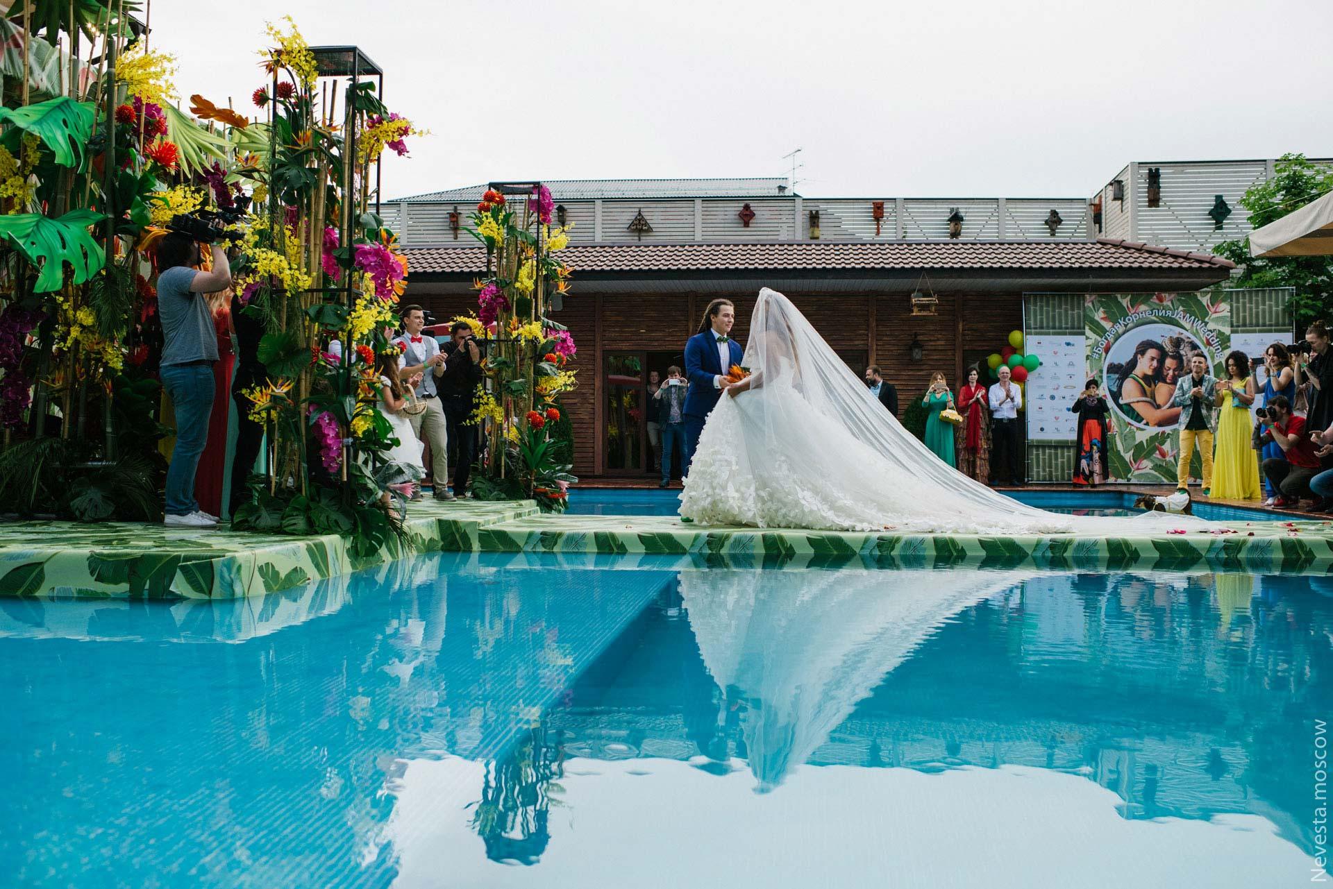 Экзотическая Ямайка. Свадьба Корнелии Манго и Богдана Дюрдя фото 28