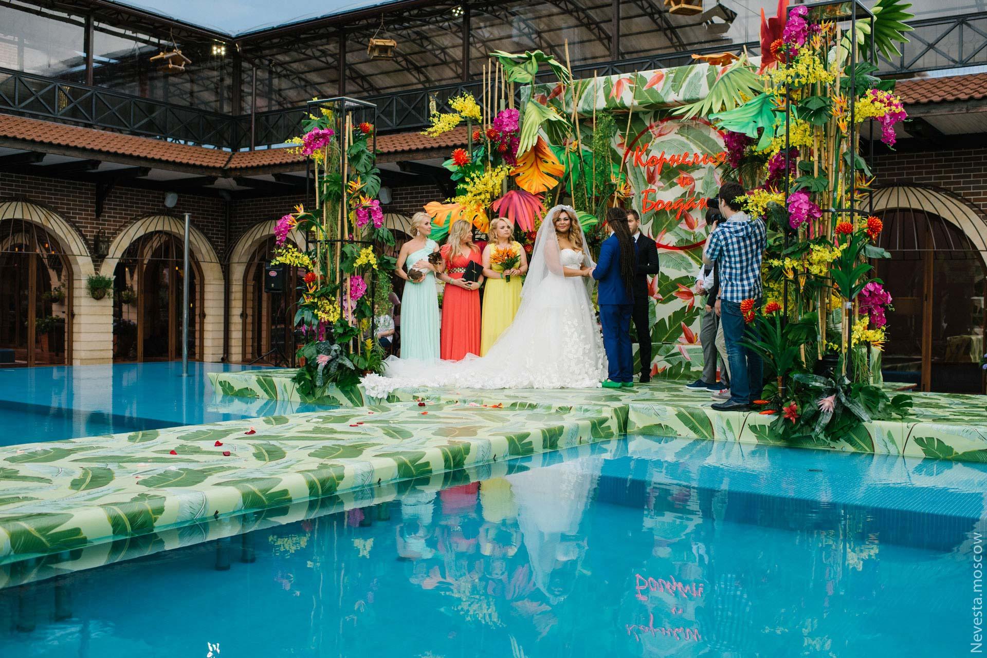 Экзотическая Ямайка. Свадьба Корнелии Манго и Богдана Дюрдя фото 29