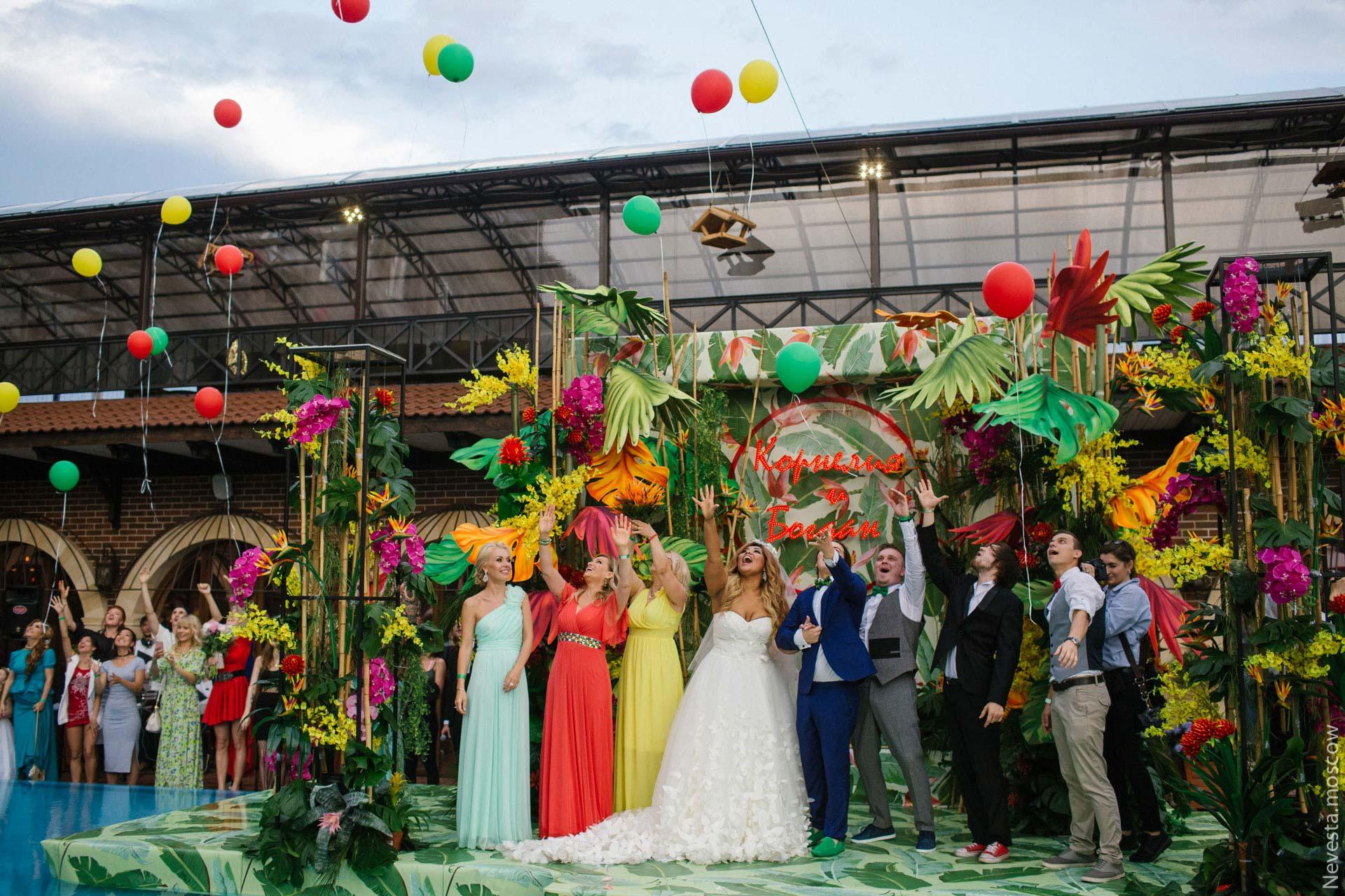 Экзотическая Ямайка. Свадьба Корнелии Манго и Богдана Дюрдя фото 30
