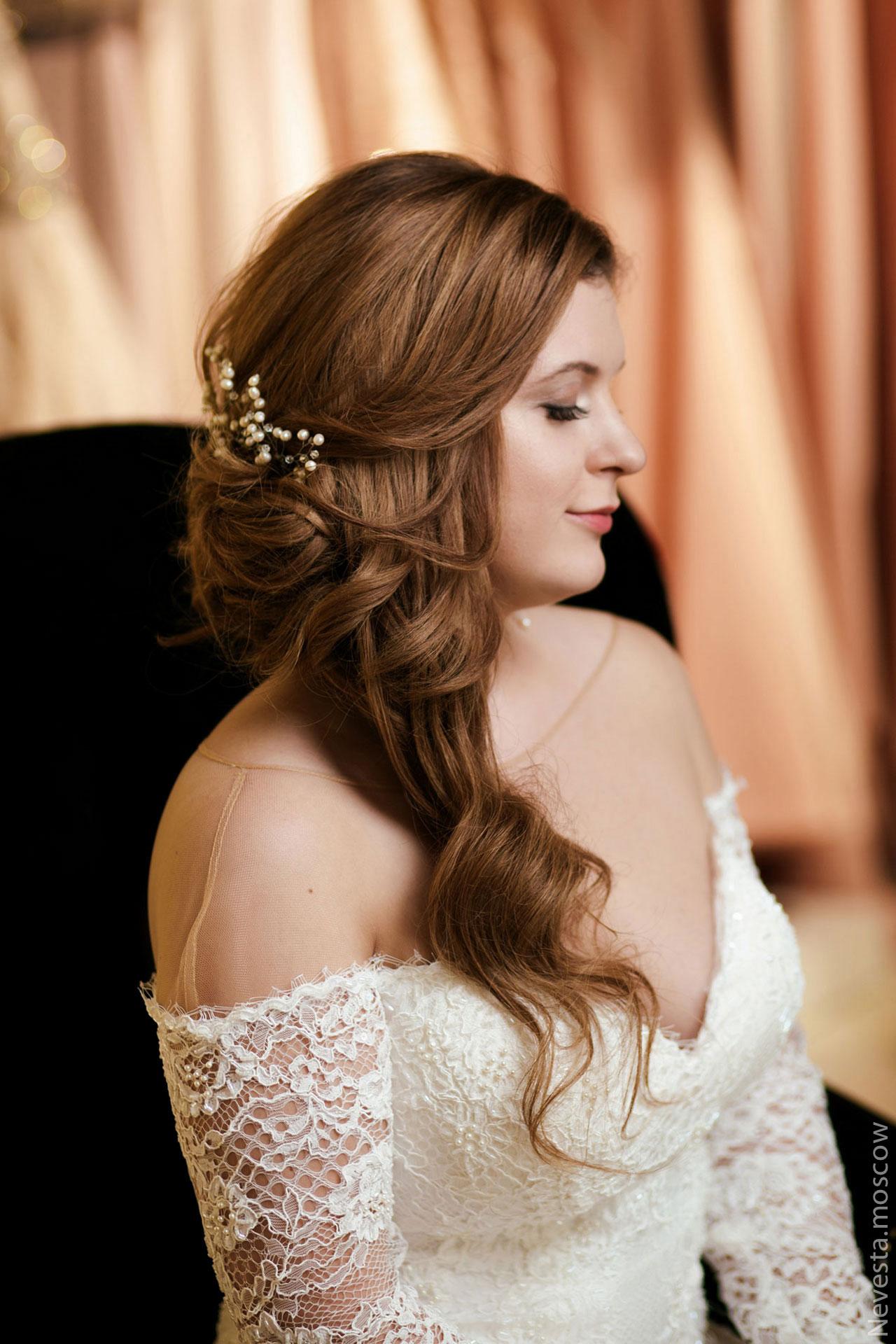 Анастасия Денисова выбирает образ для своей свадьбы фото 24
