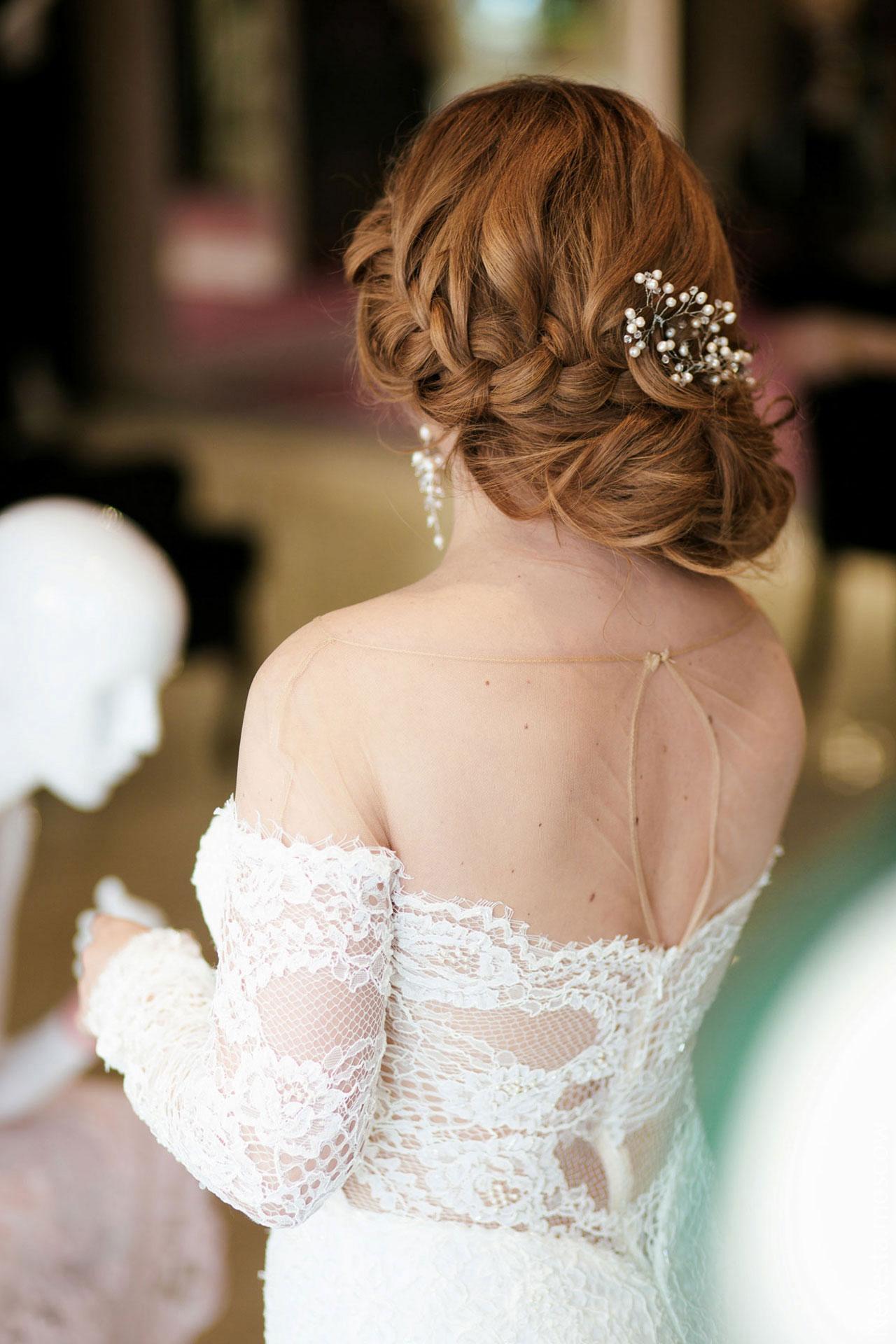 Анастасия Денисова выбирает образ для своей свадьбы фото 27