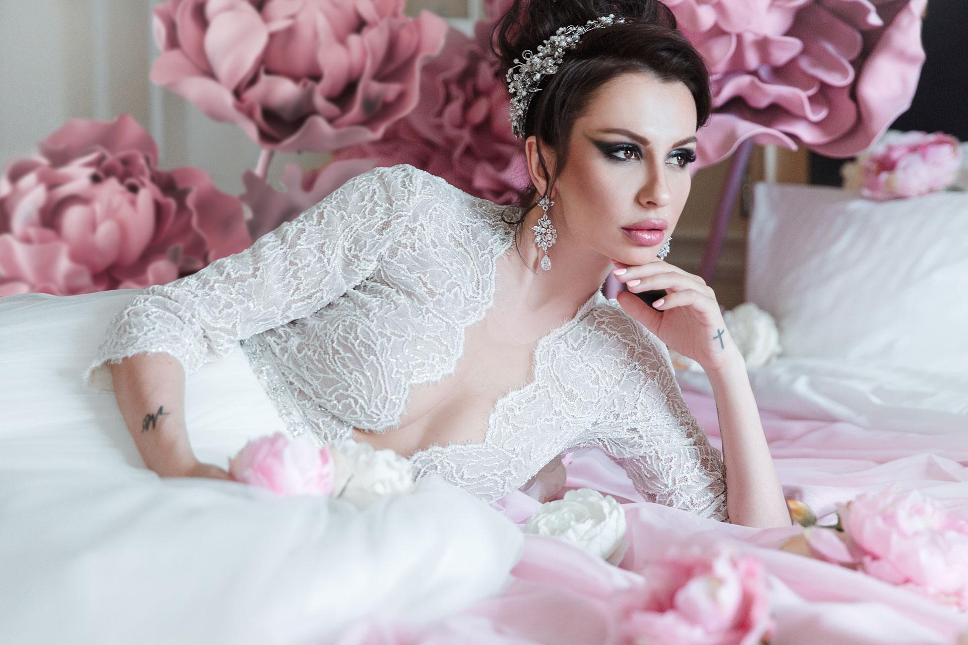 Пионовая свадьба. Свадьба Анны Грачевской и Артема Кузякина фото 15