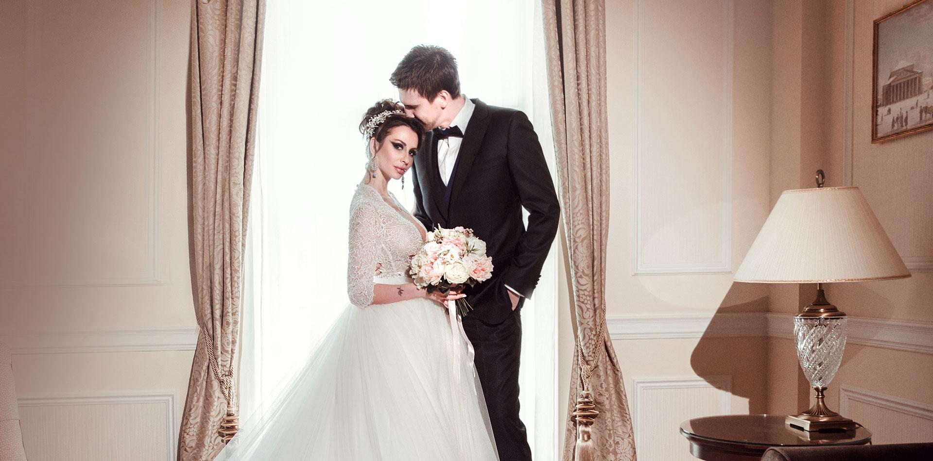Пионовая свадьба. Свадьба Анны Грачевской и Артема Кузякина фото 18