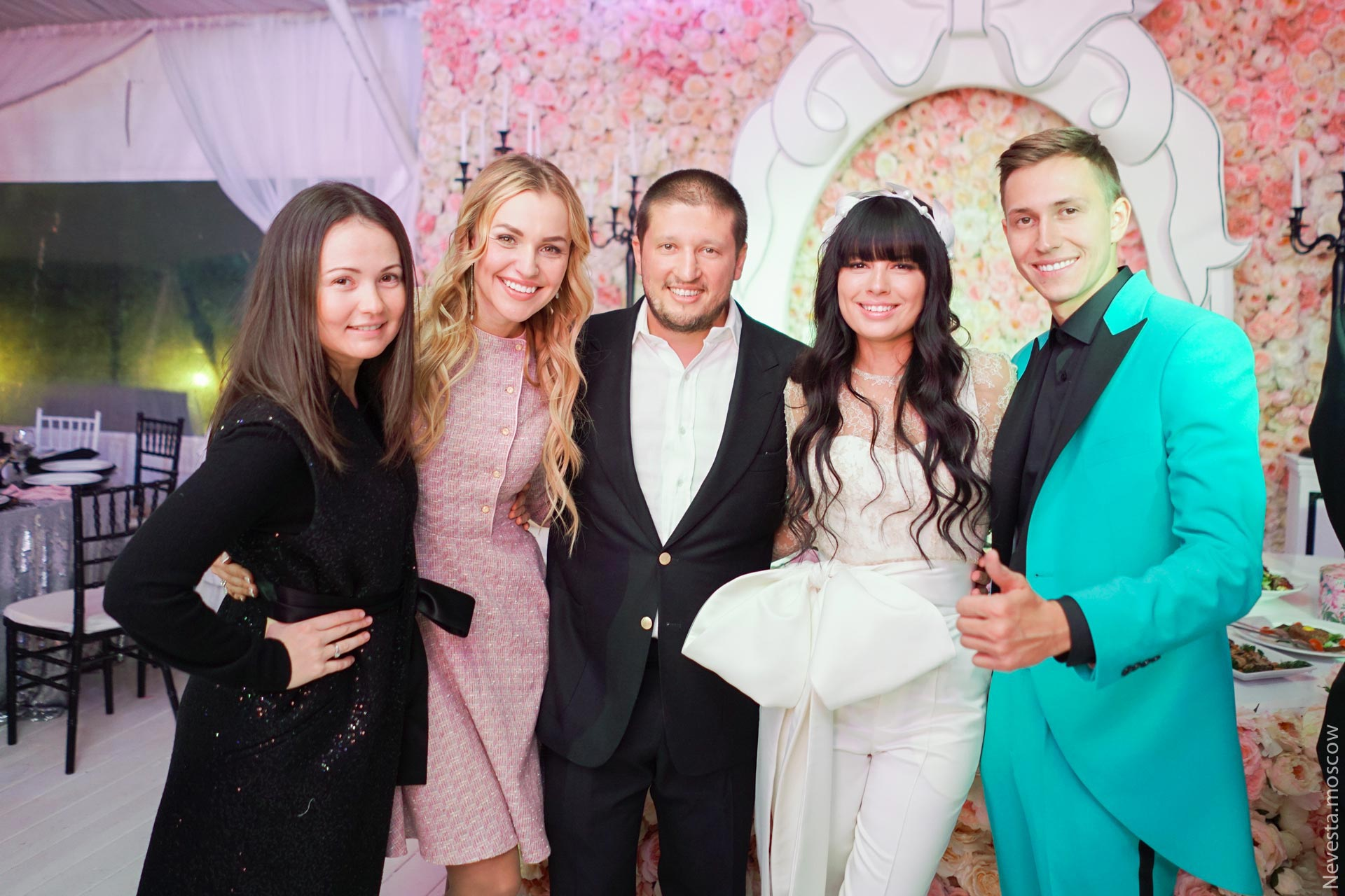 Свадьба Нелли Ермолаевой и Кирилла Андреева фото 46