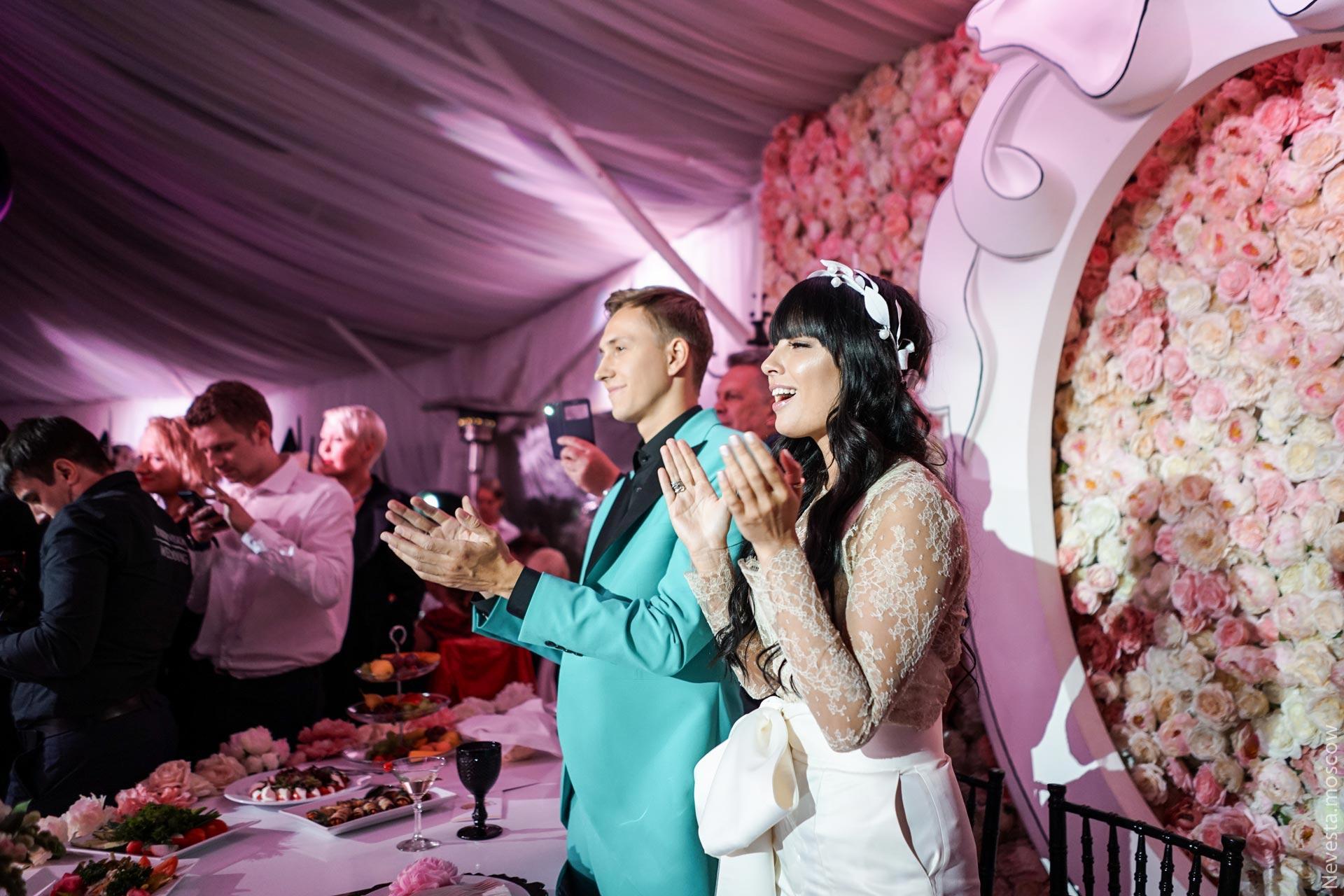 Свадьба Нелли Ермолаевой и Кирилла Андреева фото 49