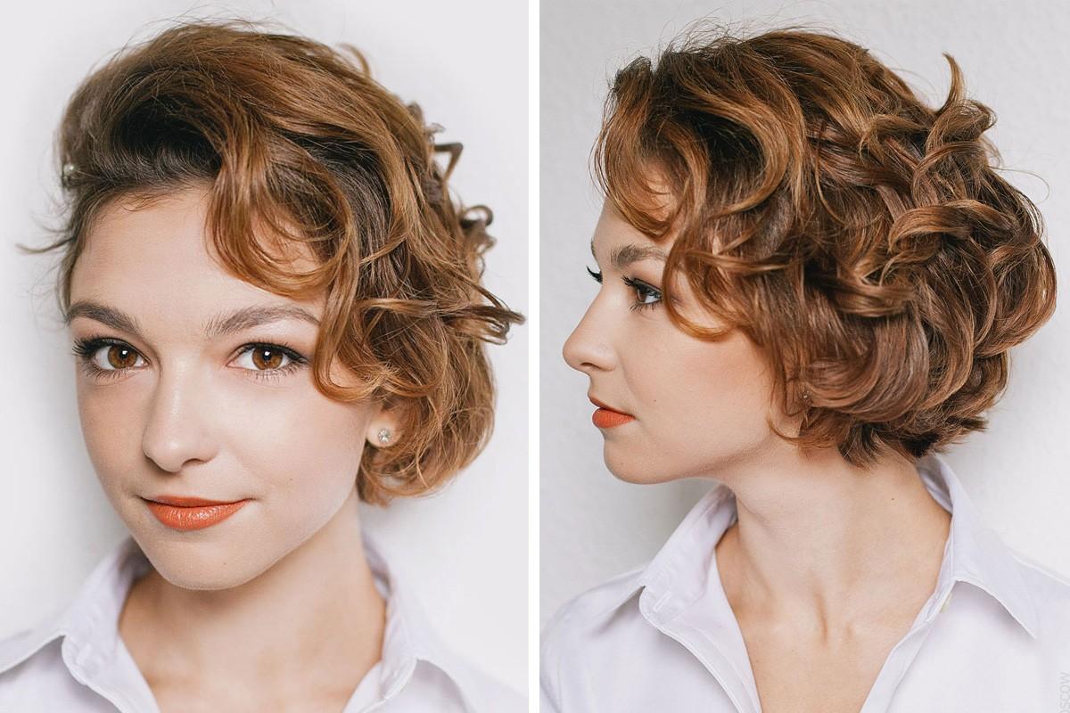 Несколько причесок для коротких волос фото 3