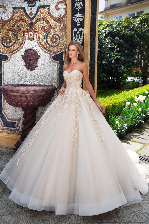 платье бальное свадебное