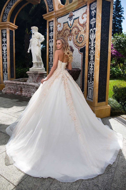 свадебное платье бальное