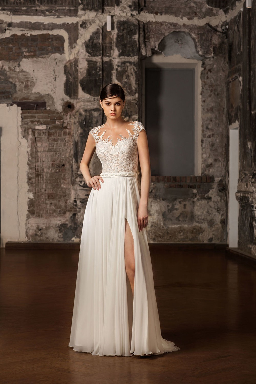 свадебное платье с греческим силуэтом