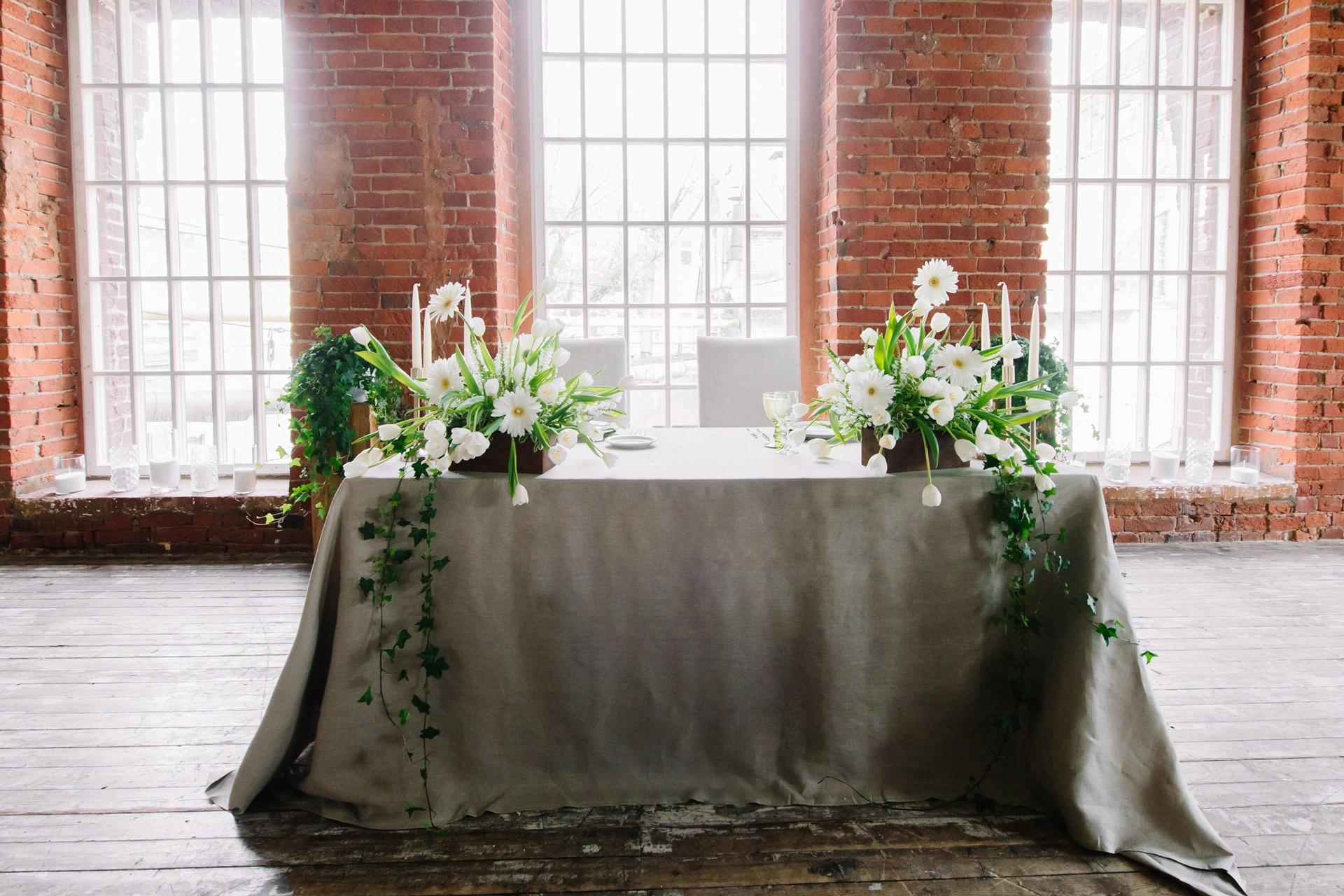 в лофт-стиле свадьба
