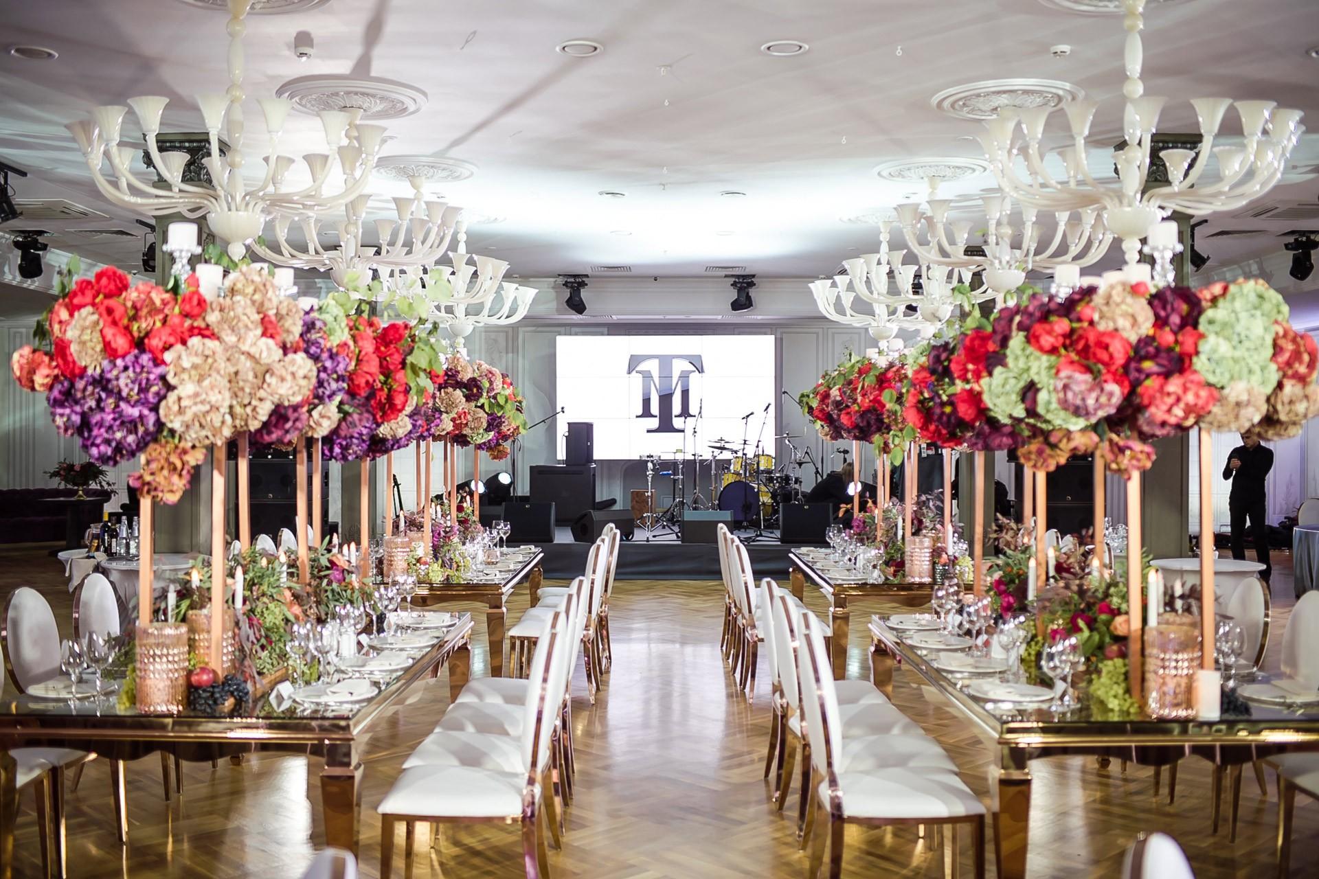 стильный свадебный лофт
