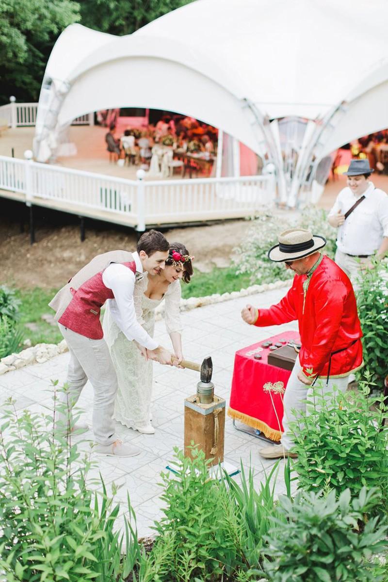 Тайминг свадьбы с конкурсами