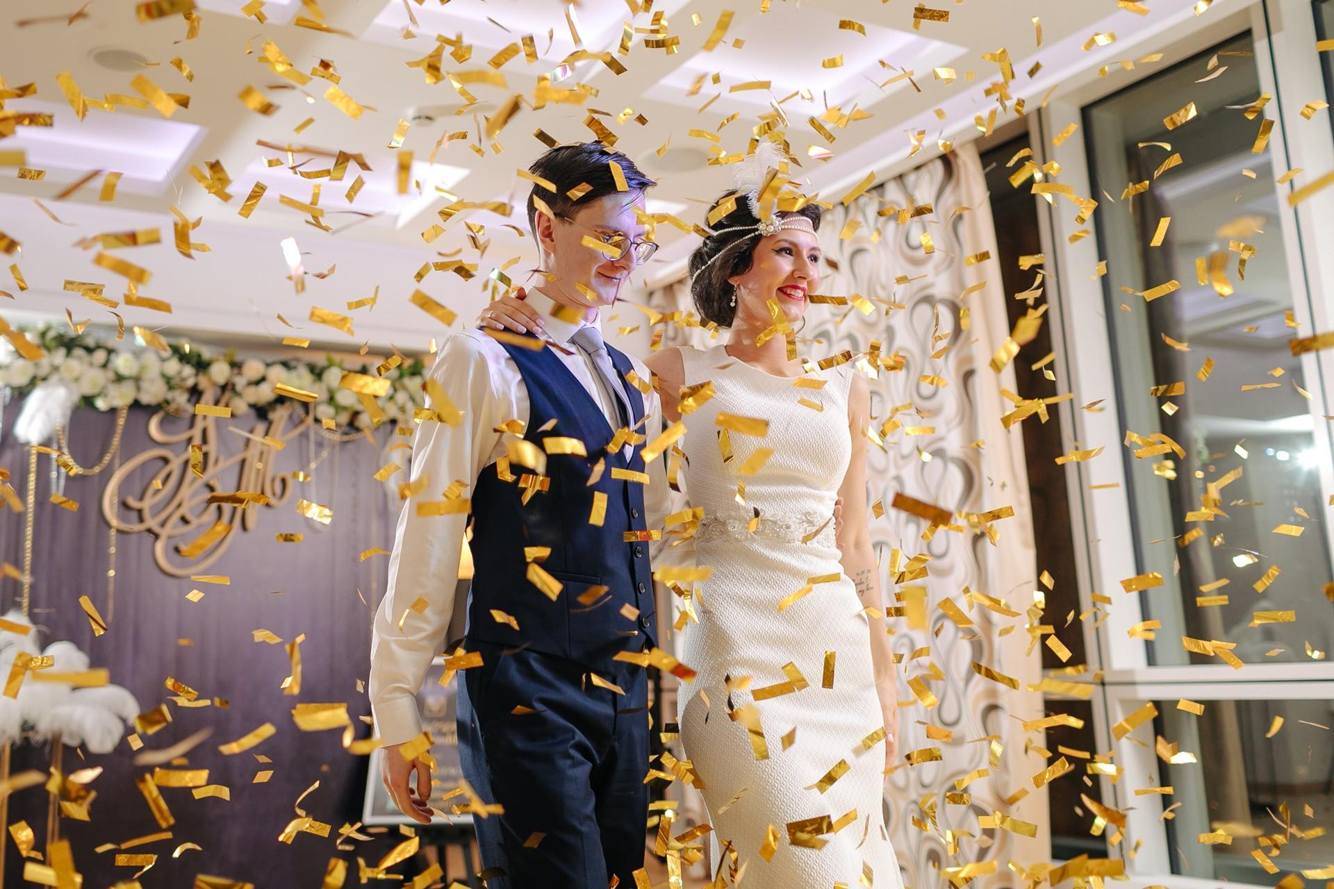 Фотоотчет свадьбы в стиле гэтсби